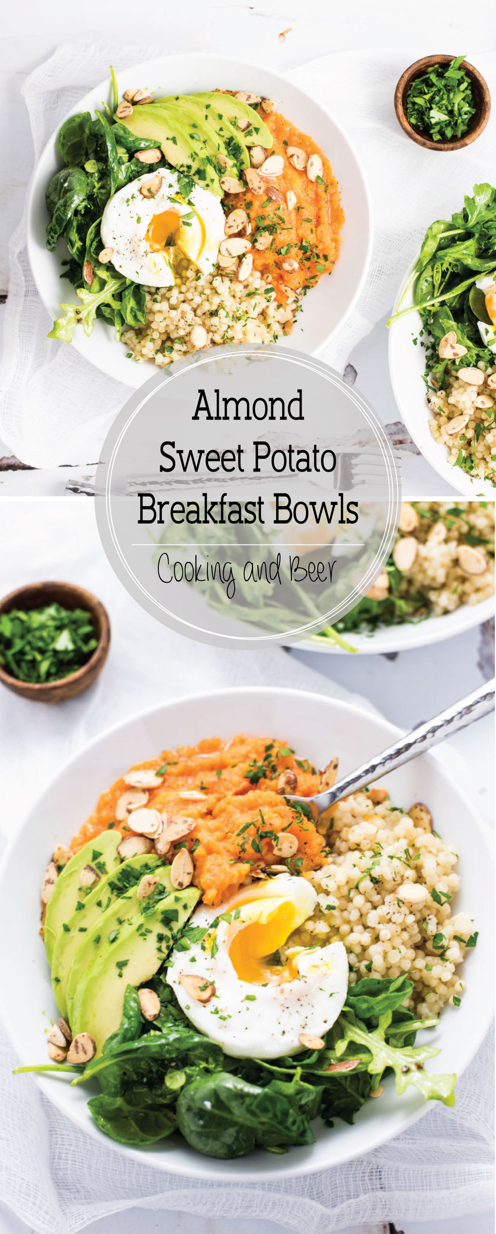 Almond Sweet Potato Breakfast Bowls are a healthy and fulfilling way to start your day!