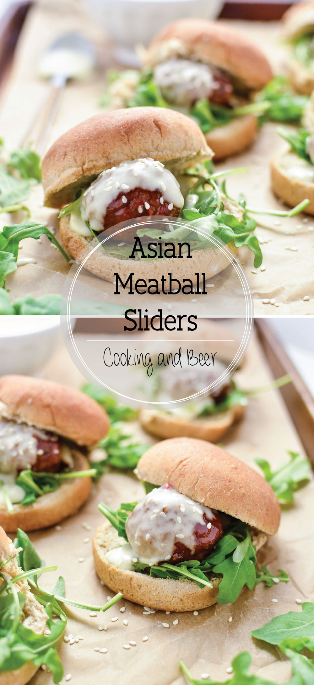 Asian Meatball Sliders are the perfect quick-bite appetizer recipe for entertaining this holiday season!