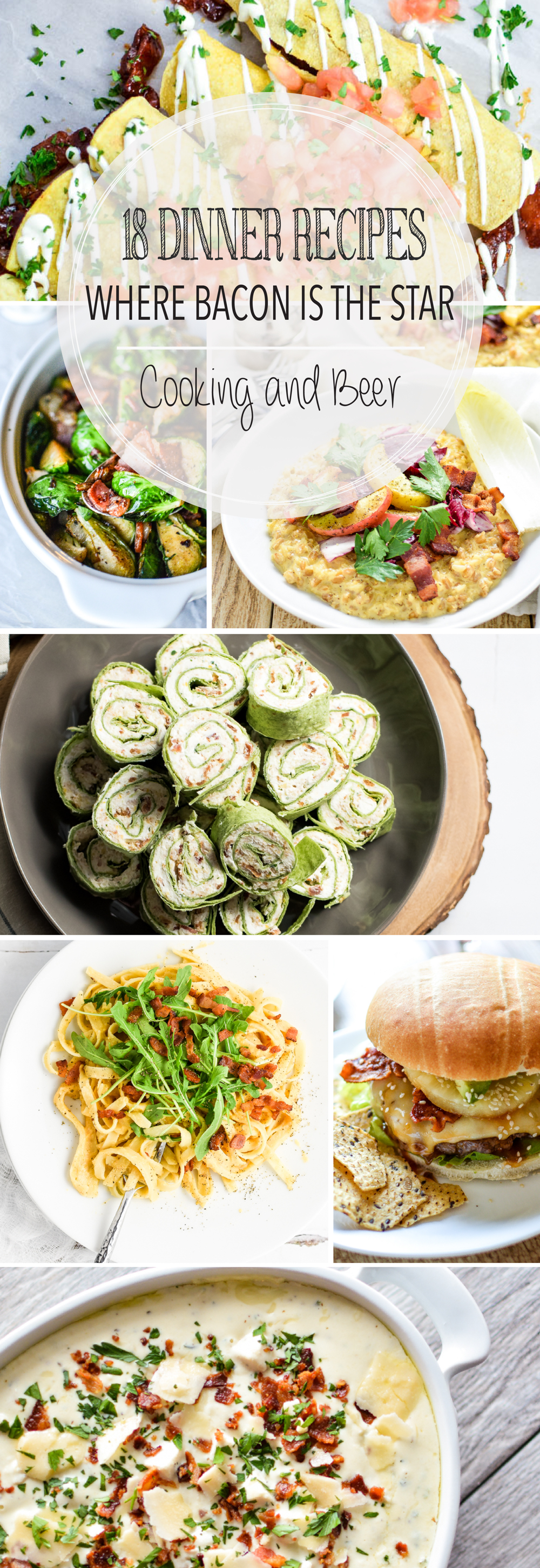 From the perfect side dishes to twice baked potatoes and from soup to tacos, here are 18 dinner recipes to make your weeknights more flavorful!