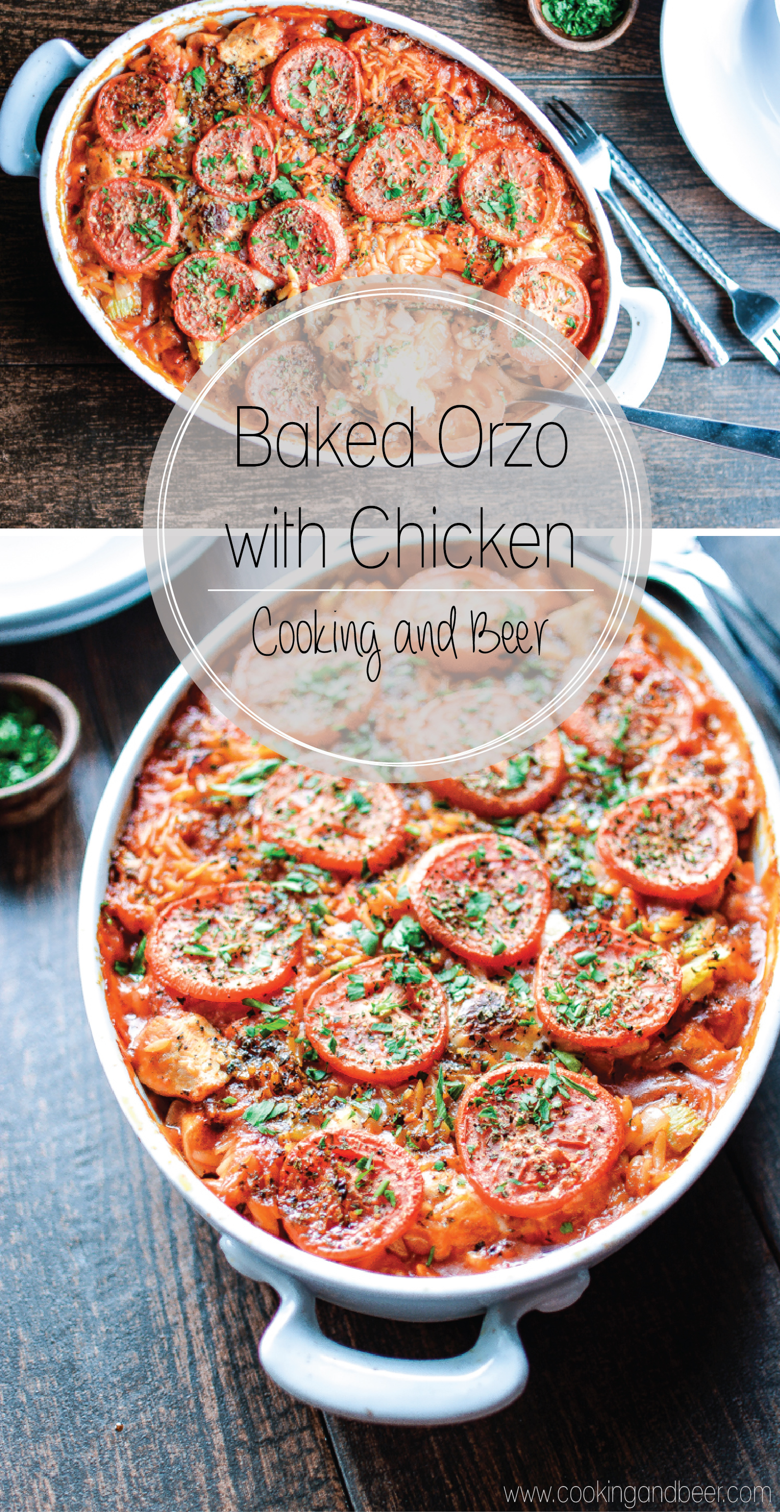 Baked orzo with chicken baked orzo with chicken a comforting and simple weeknight dinner recipe that the whole family forumfinder Image collections