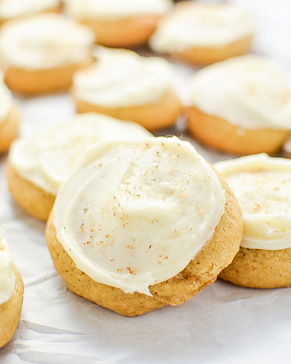Brown Butter Eggnog Cookies & 100 of the best cookie recipes for Christmas | PasstheSushi.com