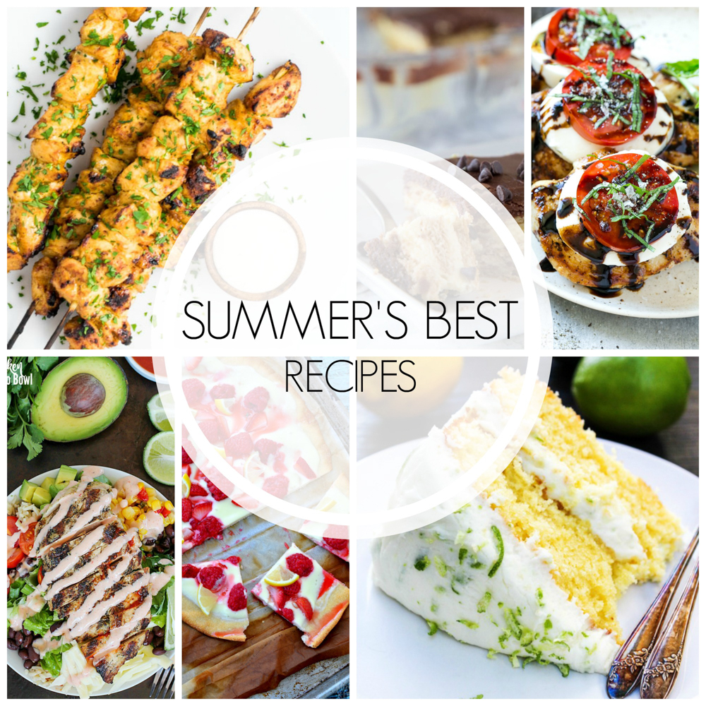 As we transition from summer into fall, let's look back on all of the recipes that made summer great! Here are 20 of the best summer recipes!