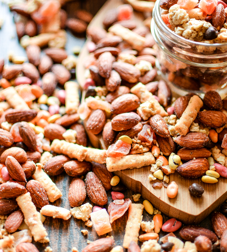 The Ultimate Hiking Trail Mix is what you need to keep you going on the trails! | www.cookingandbeer.com