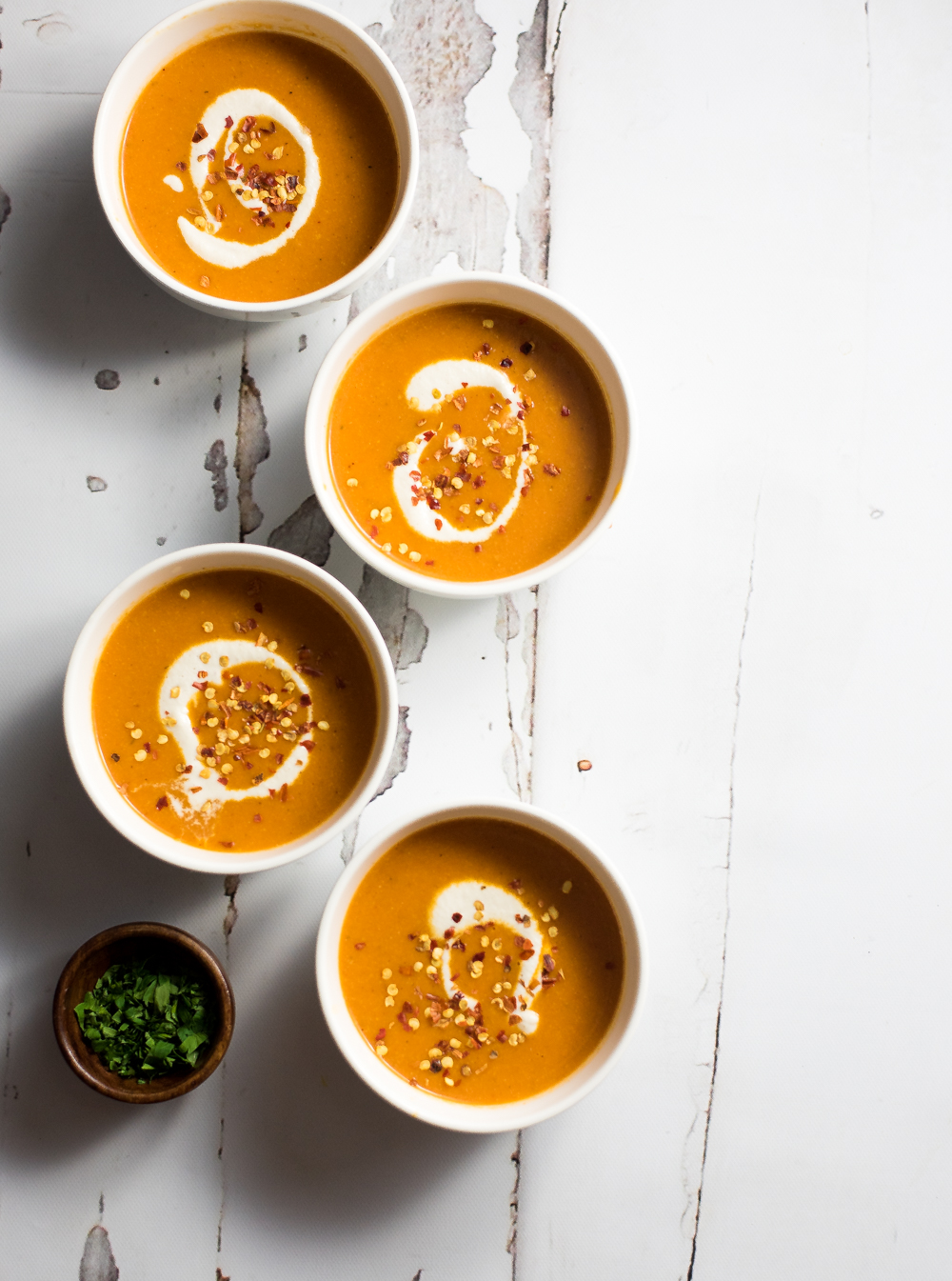 Creamy Cashew and Curried Tomato Soup - Cooking and Beer