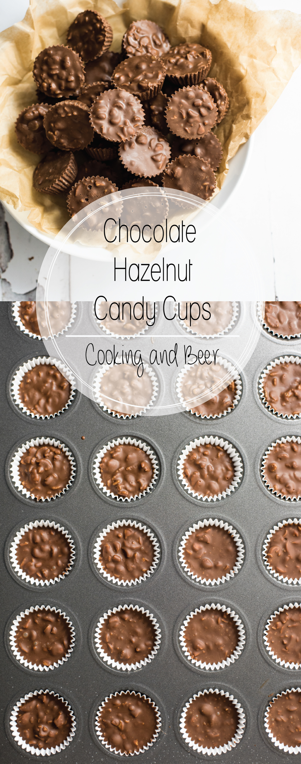 3-Ingredient Chocolate Hazelnut Candy Recipe is the perfect candy for the holidays! It only requires 3 ingredients and is ready in under 30 minutes!