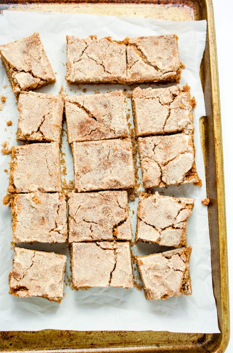 These cinnamon bars are the perfect sweet treat to serve this holiday season. They are packed full of cinnamon, sugar and delicious flavor!