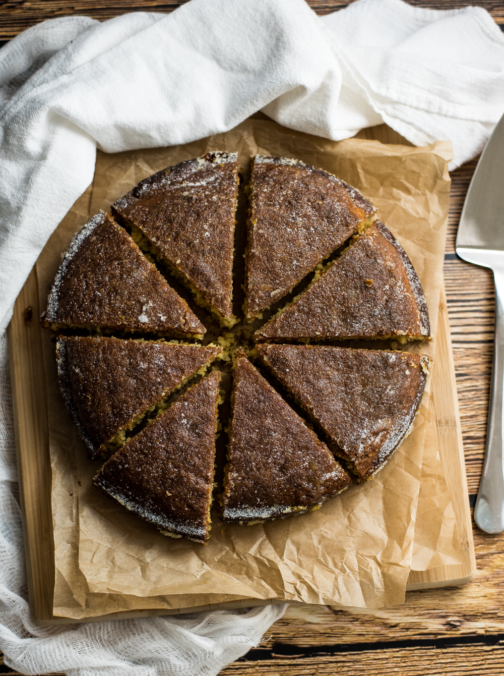 Citrus crunch cake is the perfect autumn dessert. It resembles coffee cake, but has the most amazing sugared crunchy topping!
