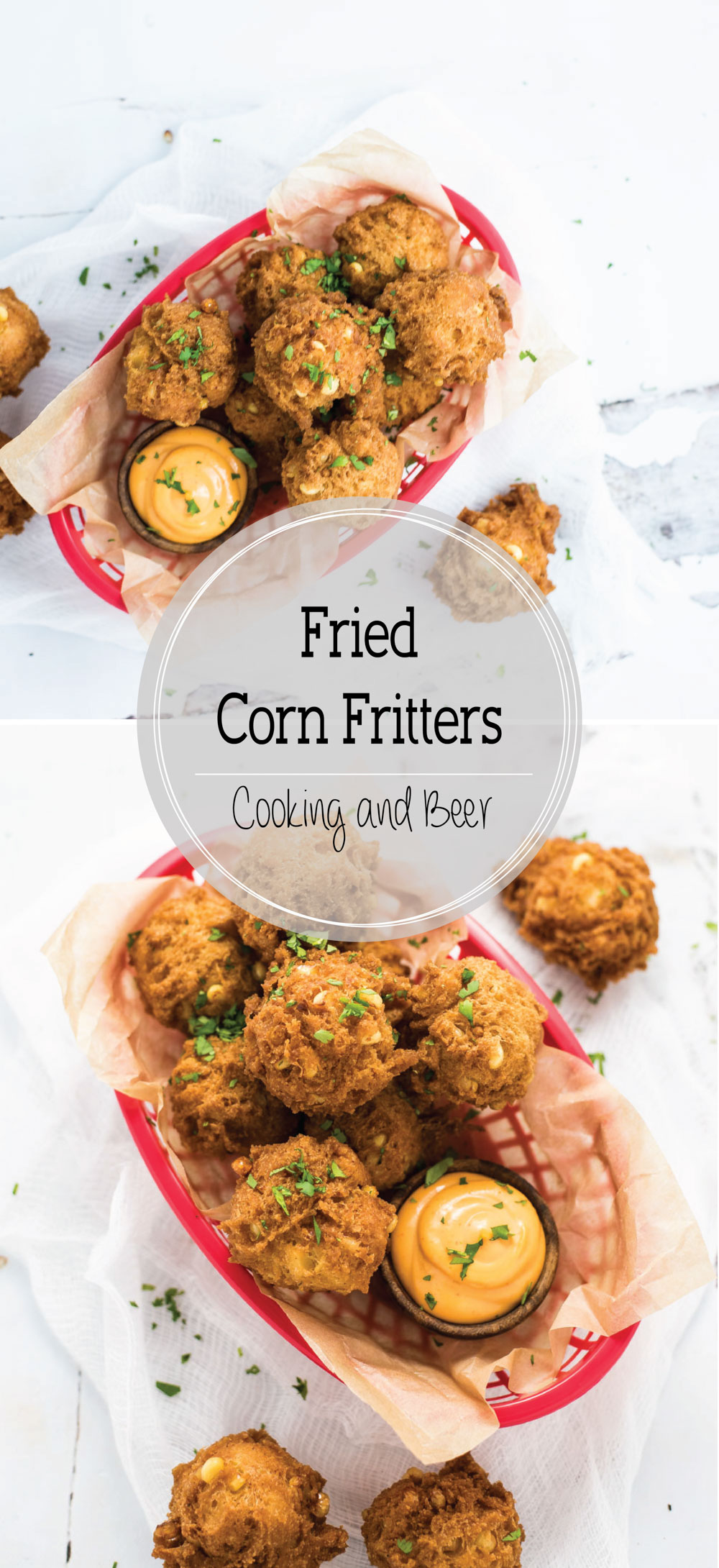 With just a handful of ingredients, you can have fried corn fritters in less than 30 minutes!