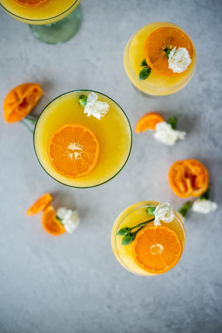 Frozen Orange Creamsicle Cocktail