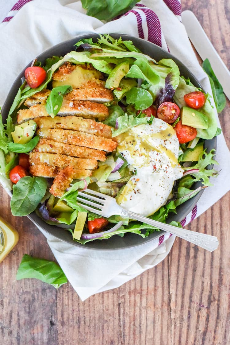 Crispy Maple Chicken Salad