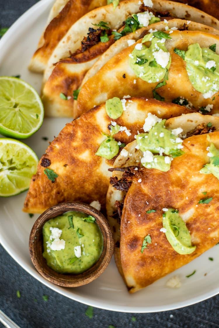 Crispy Pork Tacos