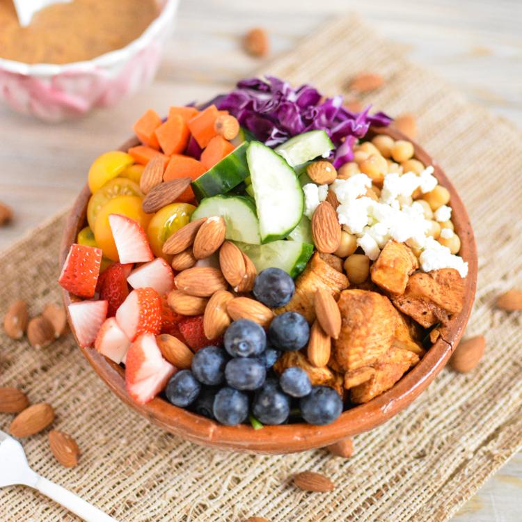 Chopped chicken salad with cashew honey mustard forumfinder Images