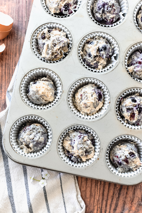 Earl grey blueberry muffins with cinnamon streusel are the perfect tasty addition to your breakfast or brunch menu!