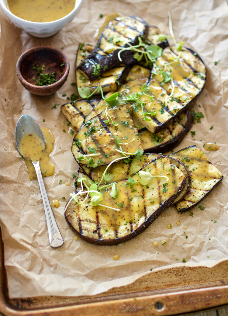 recipe: grilled eggplant side dish [4]