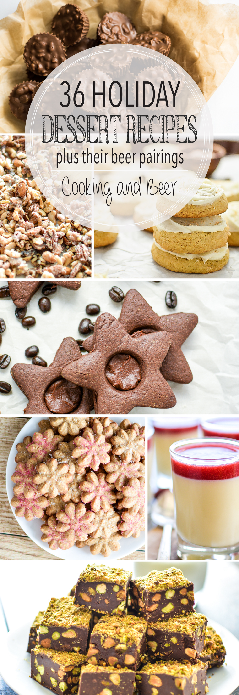 Weekly Family Menu Plan - 5 Desserts for the Holidays Edition | www.cookingandbeer.com