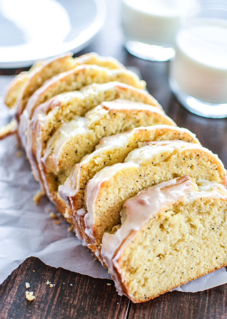Lemon Bread Made With Cake Mix
