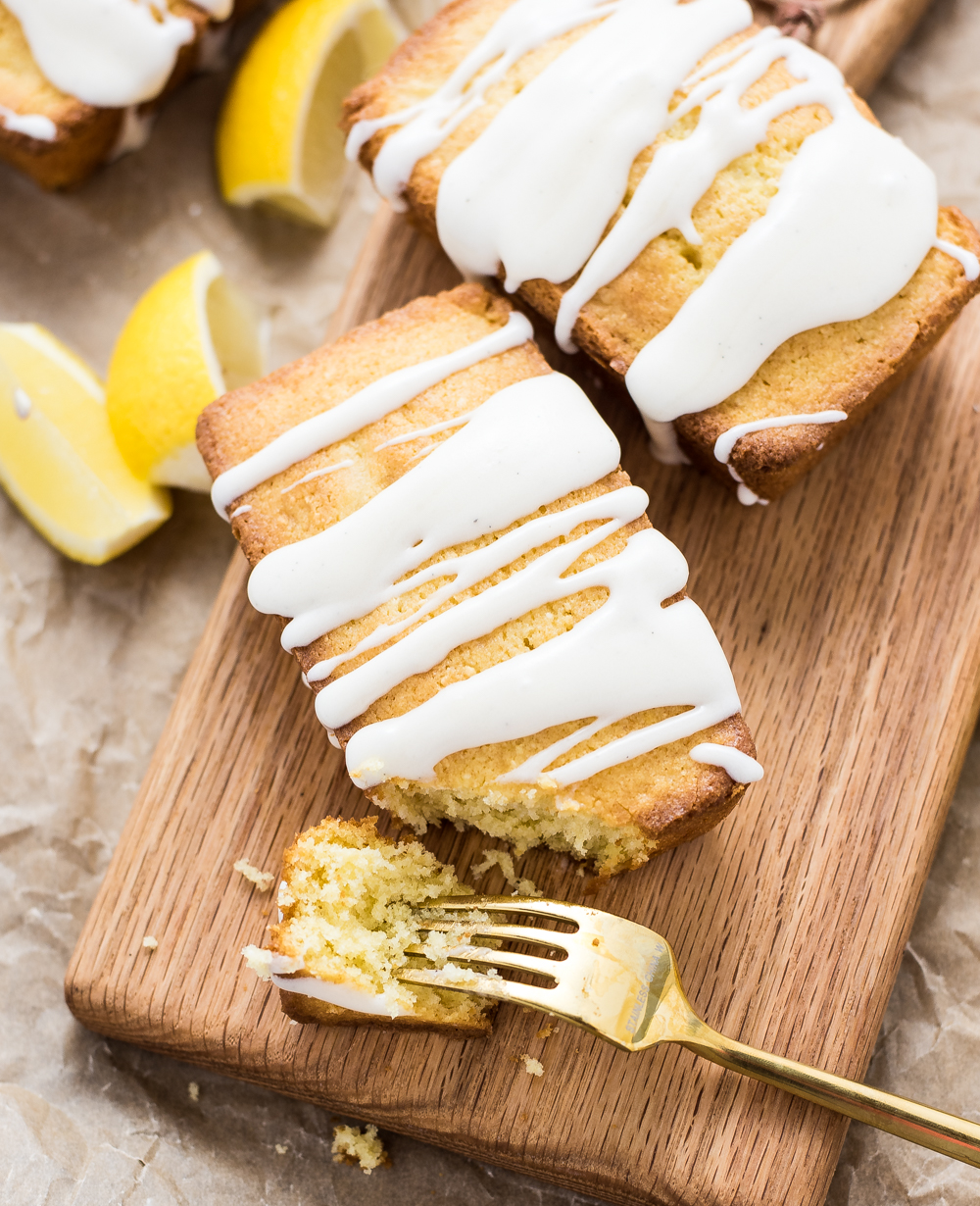 Mini Lemon Pound Cakes are sweet little cakes that can satisfy just about anyone's sweet tooth!