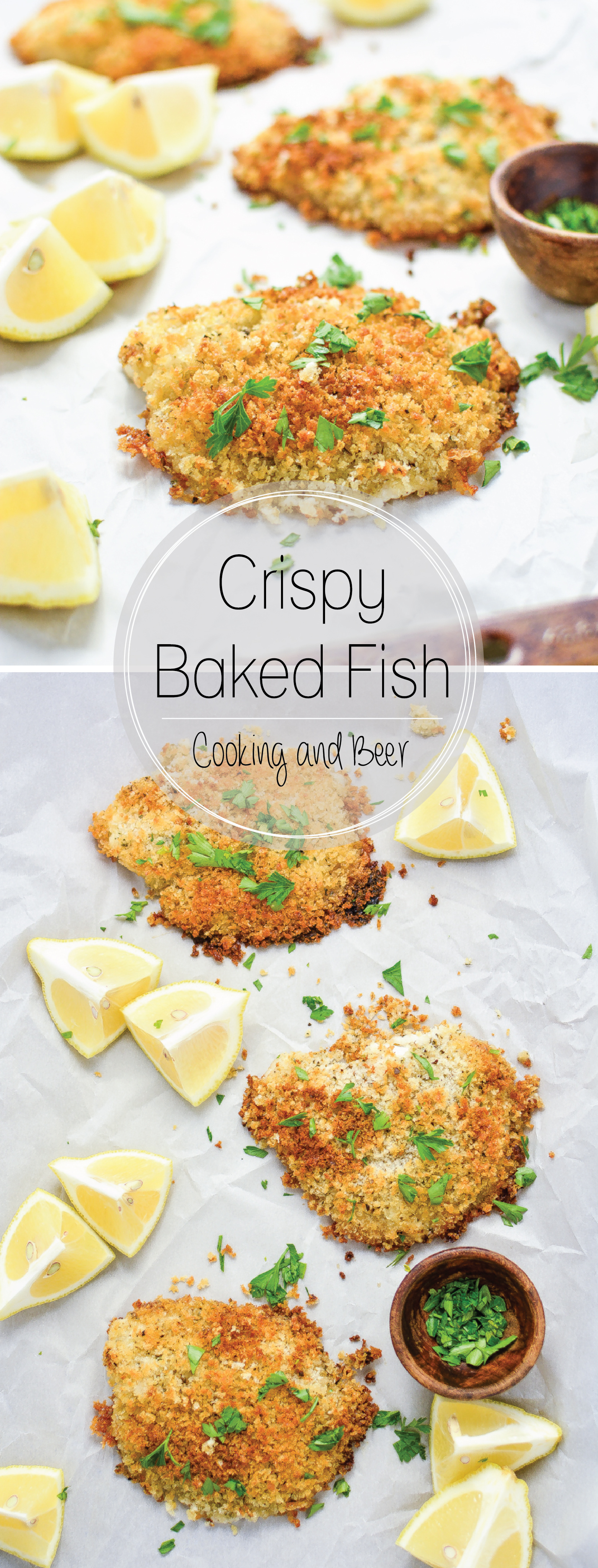 30 Minute Crispy Baked Fishcooking And Beer