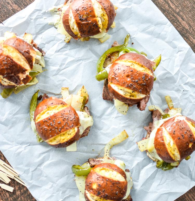 recipe: flank steak philly sandwich [36]