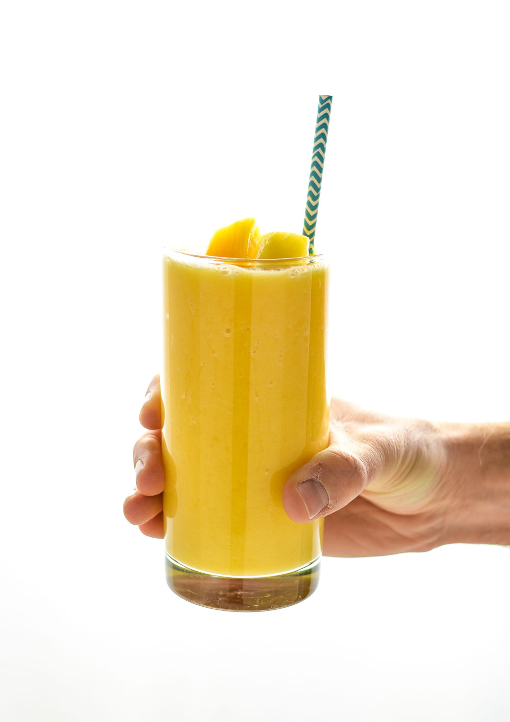 Orange pineapple smoothies are a great and refreshing way to start the day!