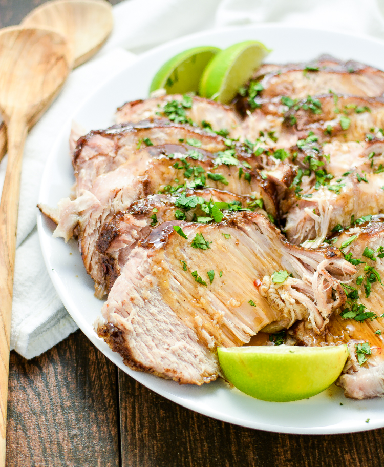 Asian Slow Cooker Pork Roast: a simple and delicious dinner recipe that's sure to please even the pickiest of guests!