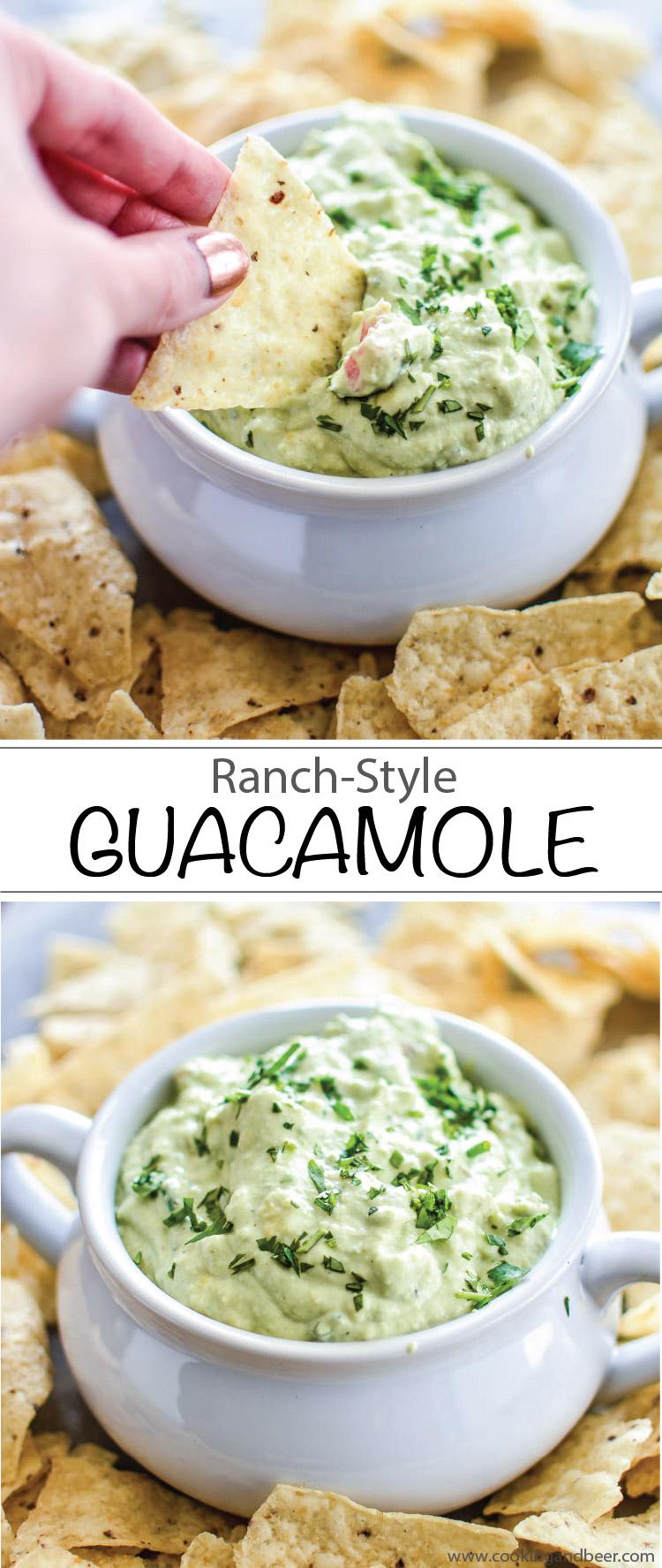 Ranch-Style Guacamole | www.cookingandbeer.com