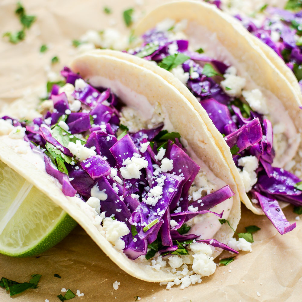 From oven fried Korean chicken tacos to scrambled egg breakfast tacos, here are 17 recipes PERFECT for Taco Tuesday!
