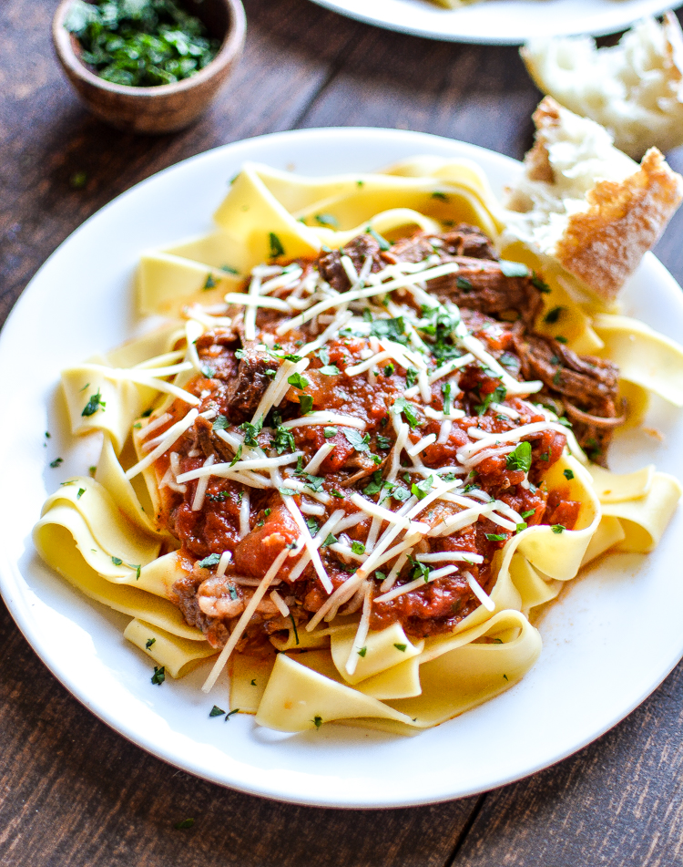 Slow Cooker Beef Ragu: a Sunday supper recipe to get excited about!   www.cookingandbeer.com
