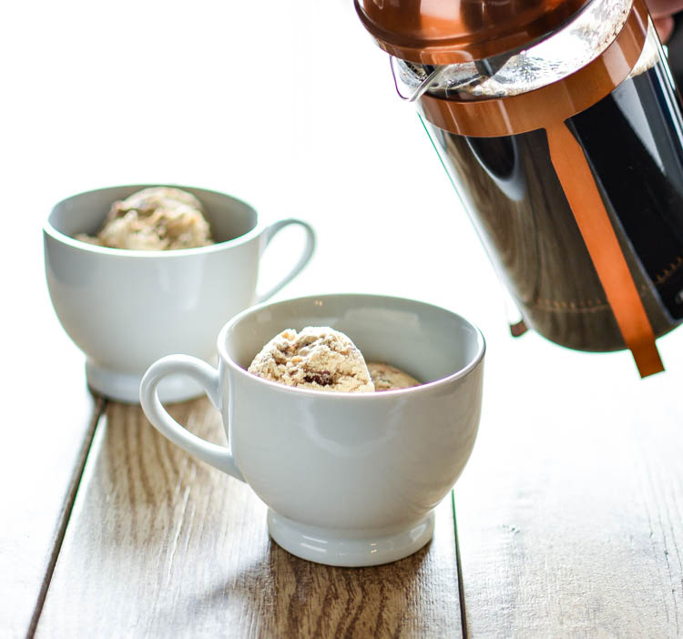 S'mores Affogato with Marshmallow Whipped Cream   www.cookingandbeer.com