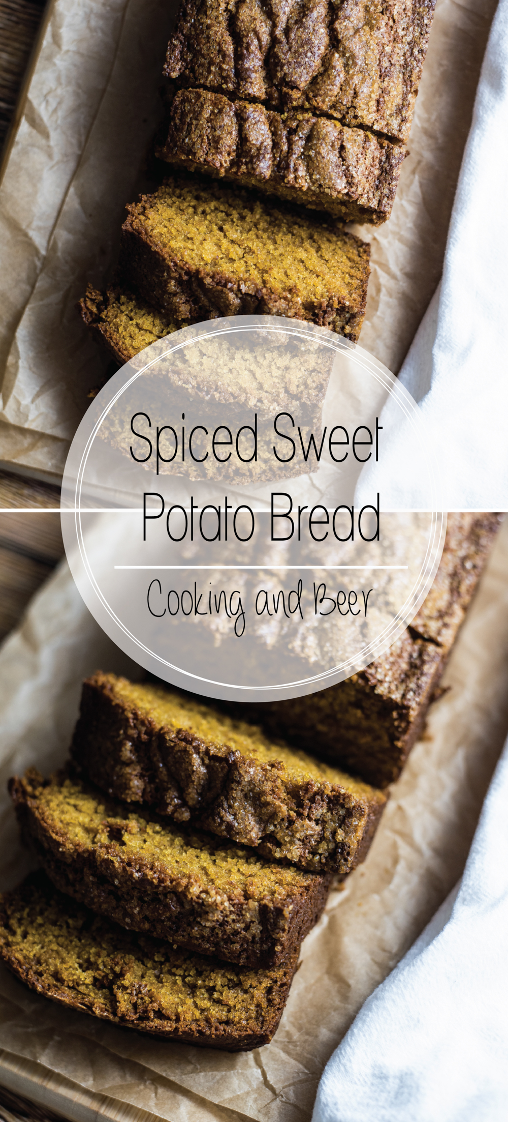 This spiced sweet potato bread is the perfect breakfast or dessert recipe. Pair it with a cup of coffee, a glass of milk, or the perfect pumpkin ale!