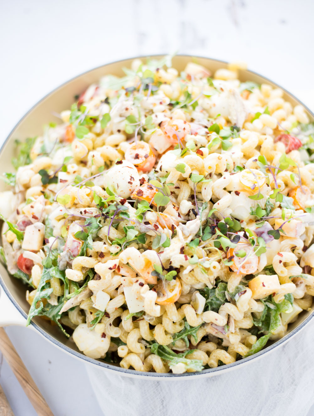 Summer Vegetable Pasta Salad is the perfect side dish for your summer picnics!