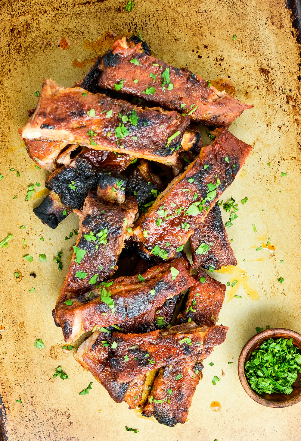 Grilled Sweet and Spicy St. Louis-Style Ribs are fall-off-the-bone amazing and are perfect for your next outdoor gathering!