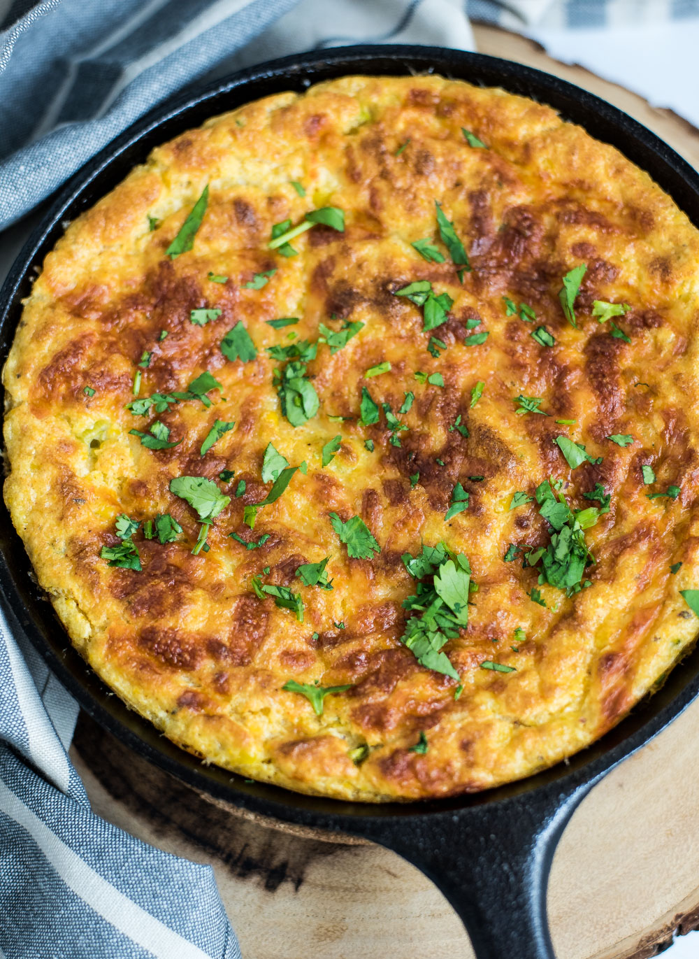 Jazz up your traditional spoon bread recipe by making it southwest-style! This southwestern spoon bread is the perfect side dish for a summer BBQ!