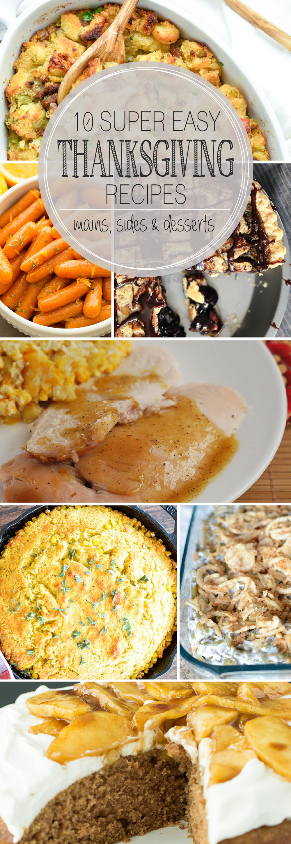 10+ Super Easy Thanksgiving Recipes