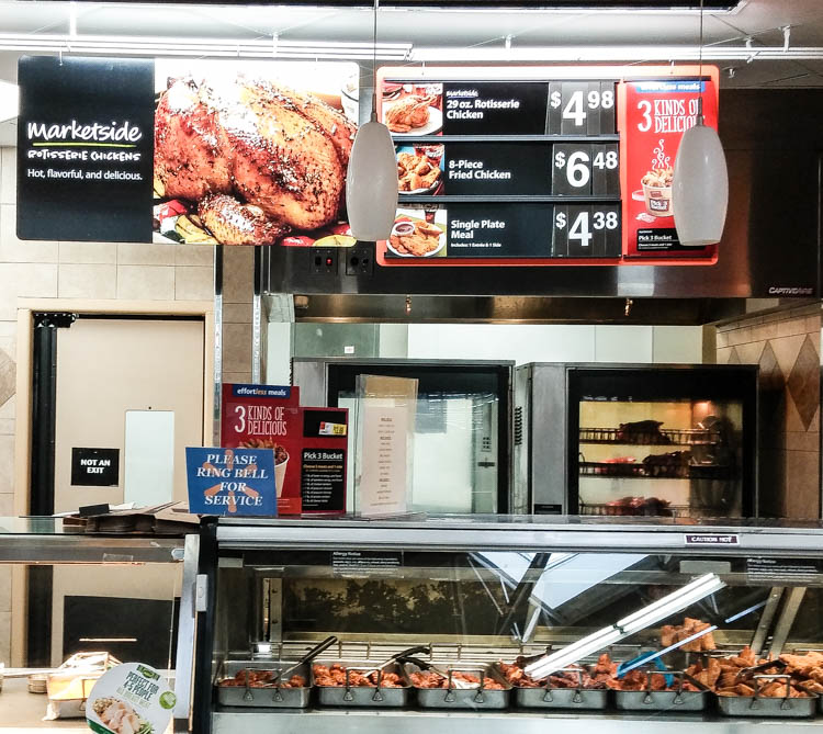 You can find a delicious variety of these wings in the deli section of ...