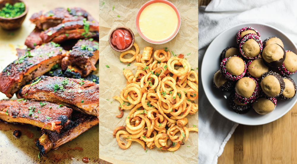 Celebrating Valentine's Day at home? Here are 10 date night in Valentine's dinner recipes to help you plan the big day! Try one of them out!